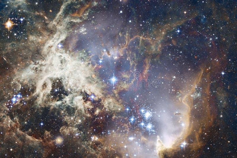 Galax n?gonstans i djupt utrymme Sk?nhet av universum royaltyfri fotografi