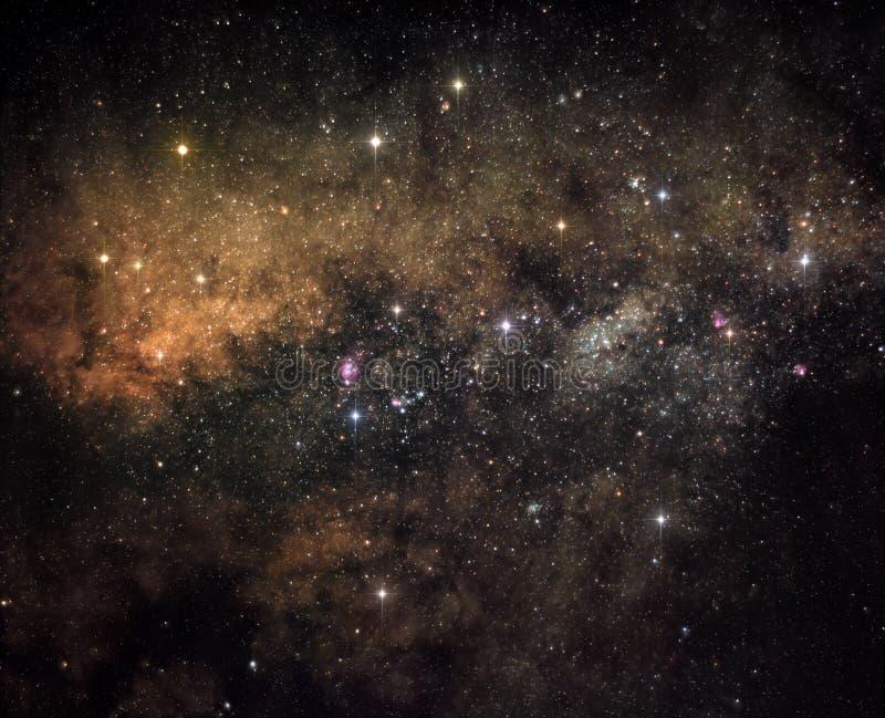 galaxhjärta royaltyfri bild