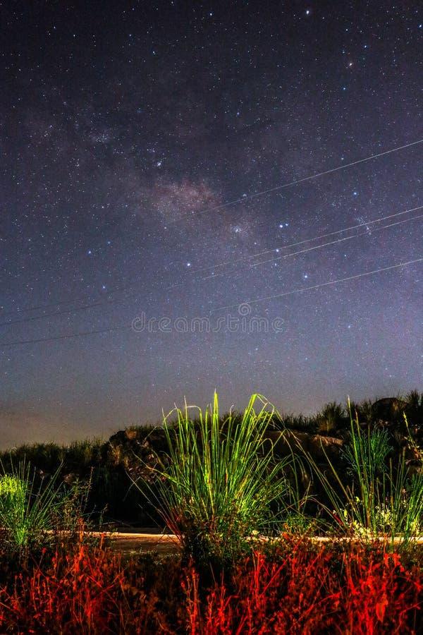 Galaxia baoting de Hainan fotografía de archivo libre de regalías