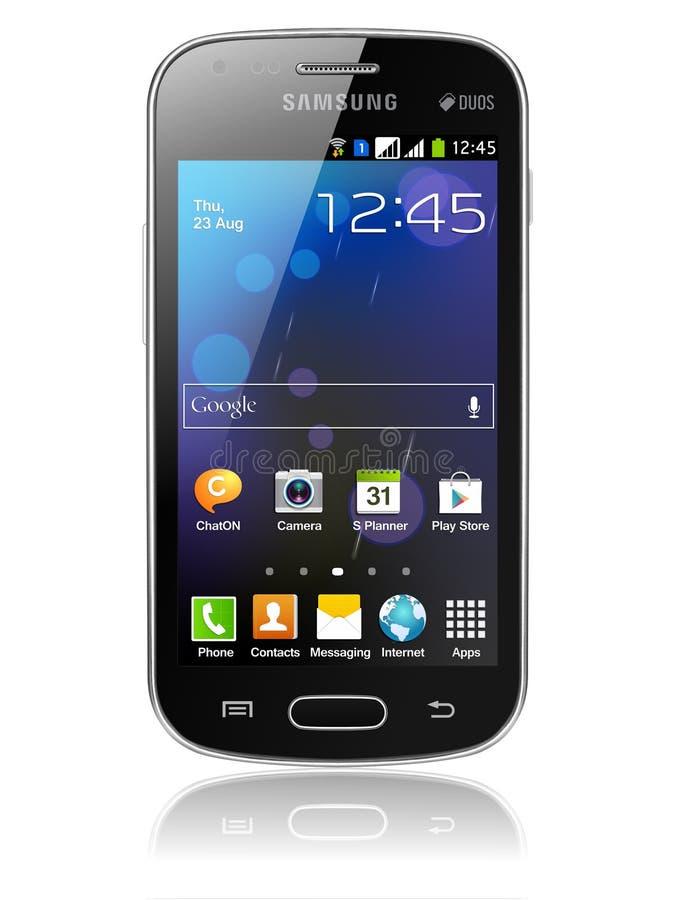 Galaxia de Samsung stock de ilustración