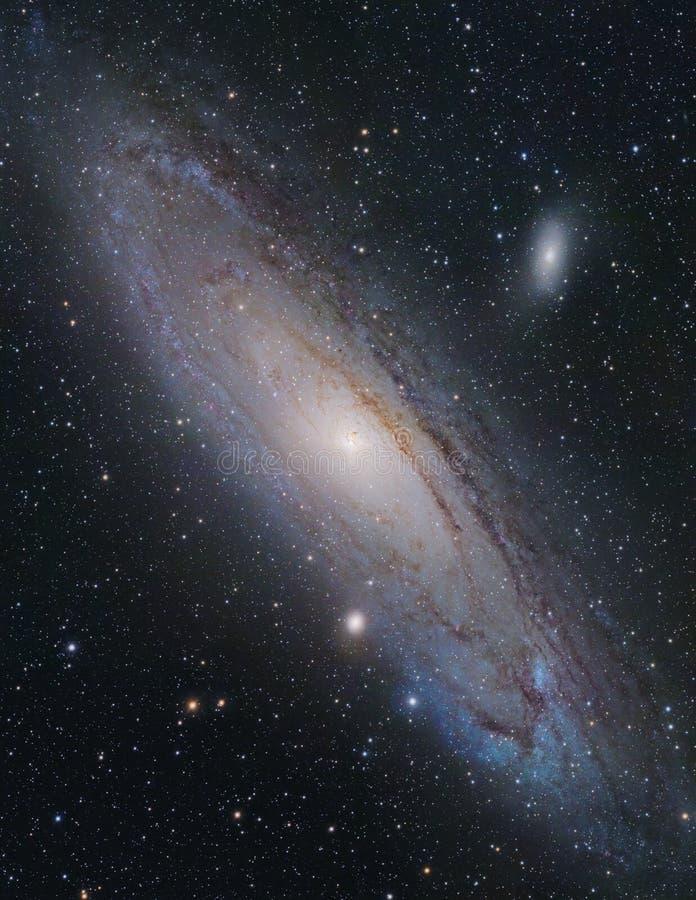 Galaxia del Andromeda fotografía de archivo
