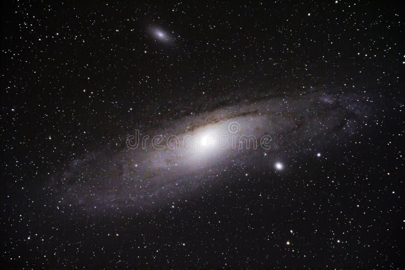 Galaxia del Andromeda (M31) fotos de archivo