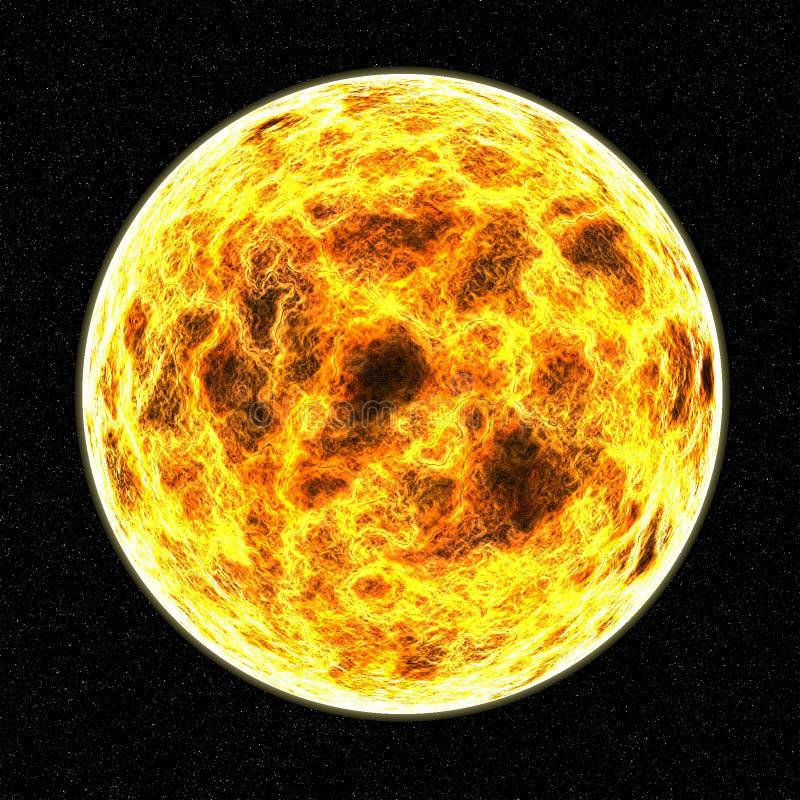 Galaxia del universo de Sun fotografía de archivo libre de regalías