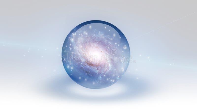 galaxia ilustración del vector