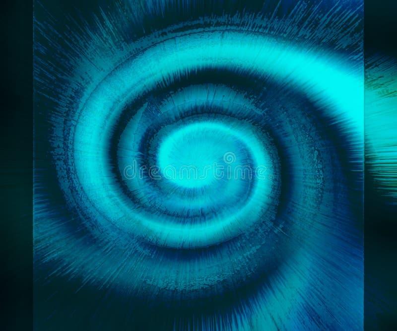 Galaxia espiral ilustración del vector