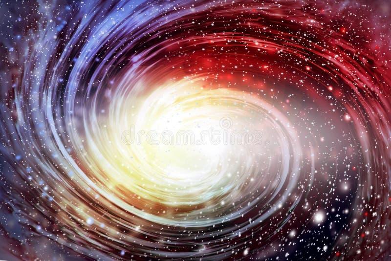 Galaxia espiral en el cosmos imagenes de archivo