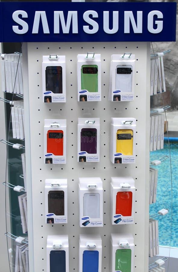 Galaxia S4 de Samsung imágenes de archivo libres de regalías