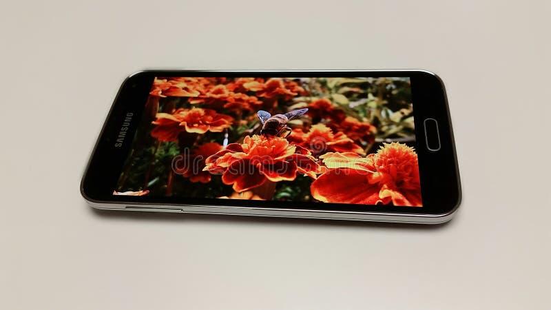 Galaxia S5 de Samsung fotos de archivo