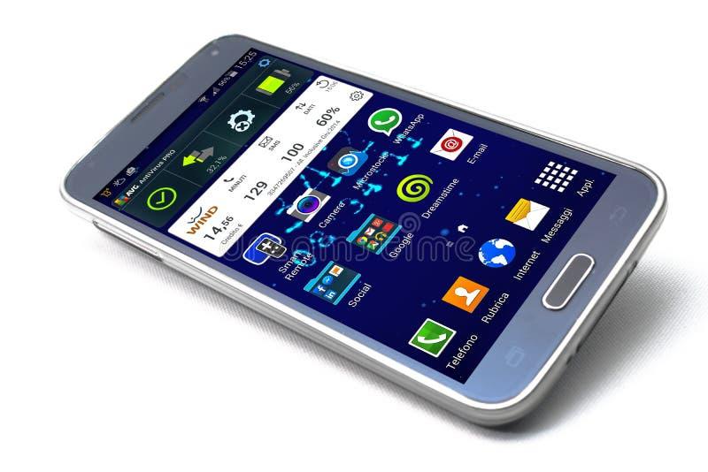 Galaxia S5 de Smartphone Samsung foto de archivo