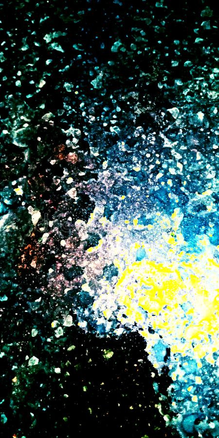 Galaxie übersehen abstraktes Foto auf Lager lizenzfreie stockfotos