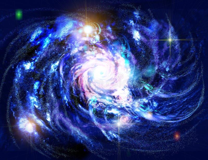 Galaxie illustrazione vettoriale