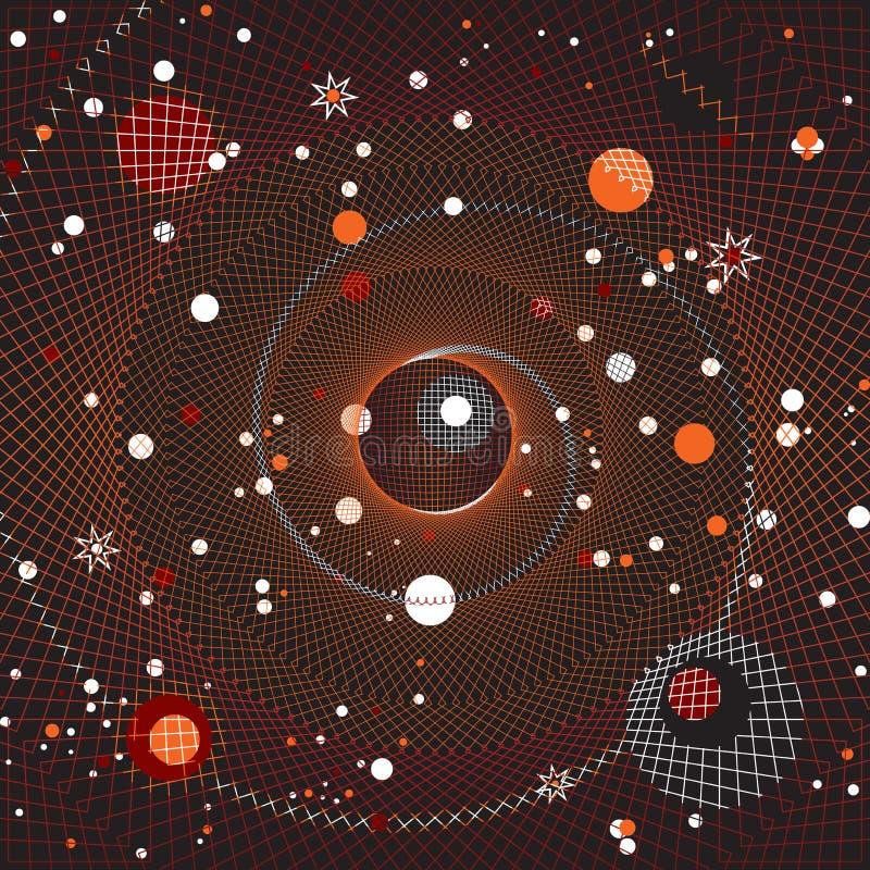Galaxie stock abbildung