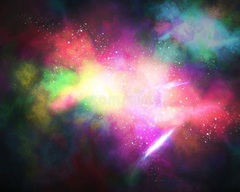 Galaxie illustration stock