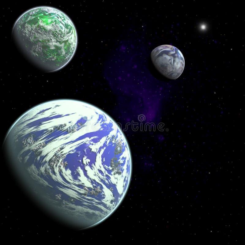 Galaxie illustration libre de droits