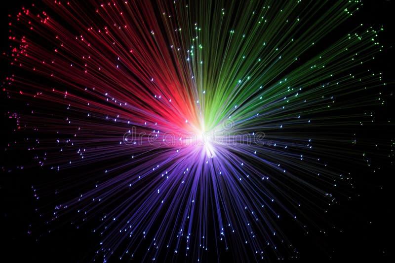 Galaxie colorée images stock