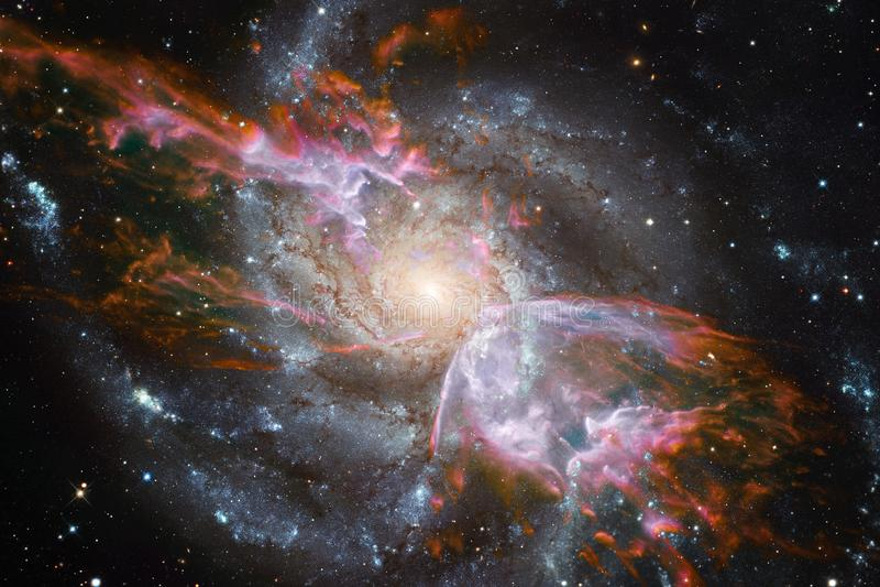 Galaxie dans l'espace extra-atmosphérique, beauté d'univers Éléments de cette image meublés par la NASA photo libre de droits