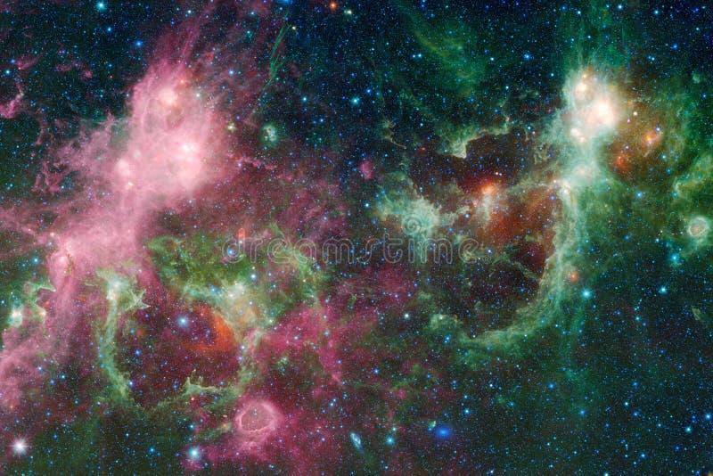 Galaxie dans l'espace extra-atmosphérique, beauté d'univers image libre de droits