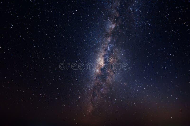 Galaxie dans le ciel photographie stock libre de droits