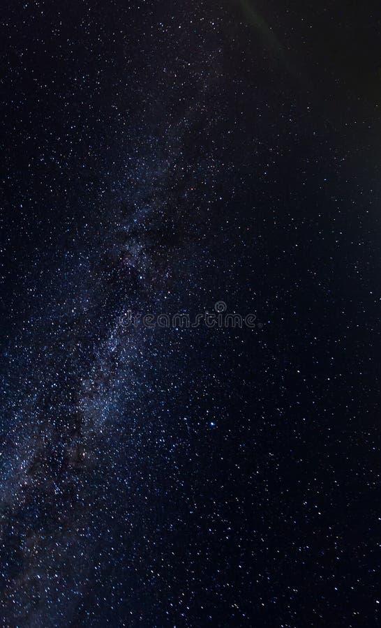 Galaxie dans le ciel image stock
