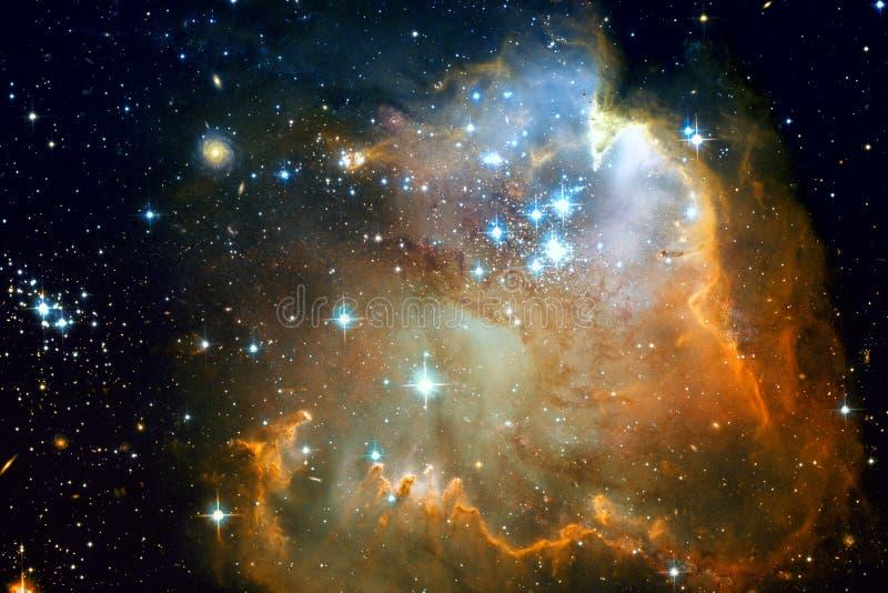 Galaxie et nébuleuses dans l'espace extra-atmosphérique Éléments de cette image meublés par la NASA photos stock