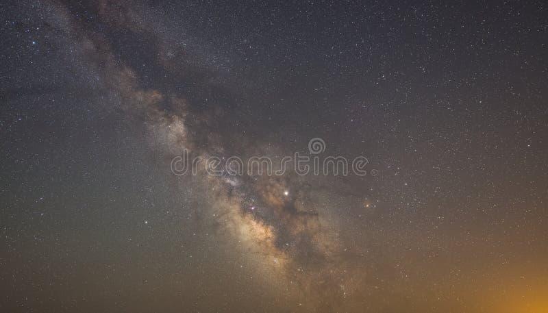 Galaxie et ?toiles de mani?re laiteuse images libres de droits