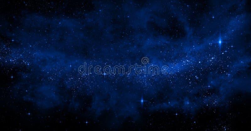 Galaxie-Hintergrund lizenzfreie stockfotografie