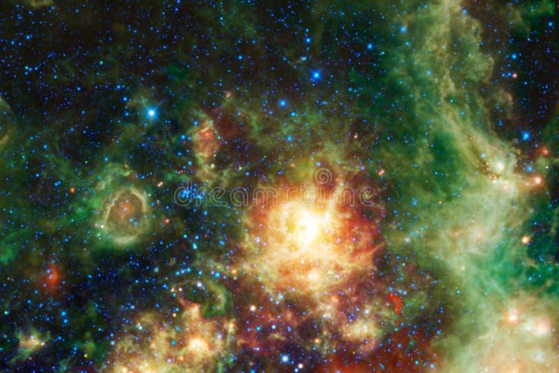 Galaxie im Weltraum, Sch?nheit des Universums lizenzfreies stockfoto