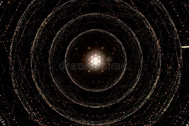 Galaxie spiralée d'univers photo libre de droits