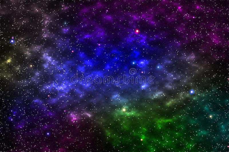 galaxie vide pour le fond et la conception, élément de cette fourrure d'image images stock