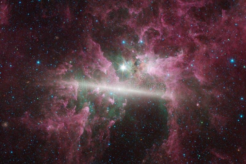 Galaxies, étoiles et nébuleuses dans l'image impressionnante de l'espace photos stock