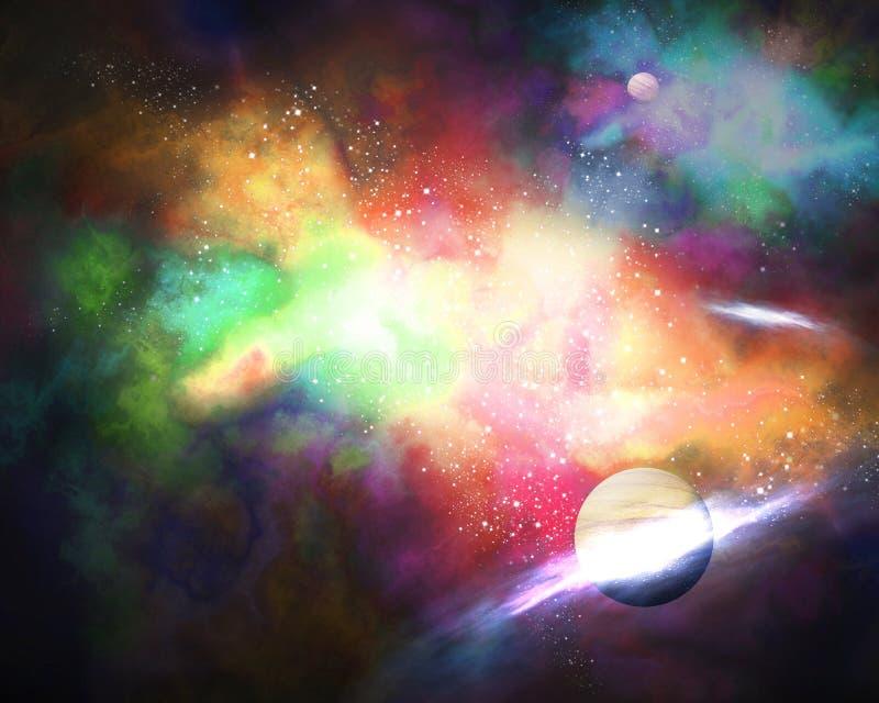 Galaxy vector illustration