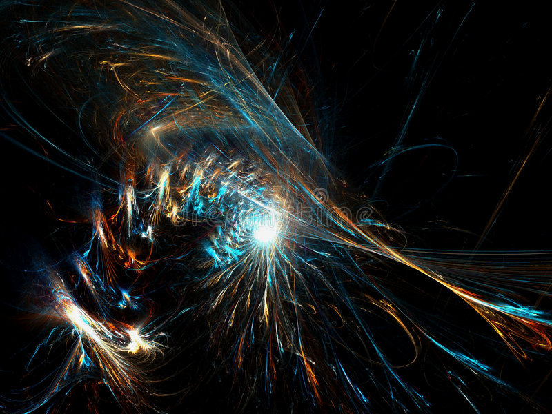 Galaxy. Deep in space - abstract galaxy background royalty free illustration