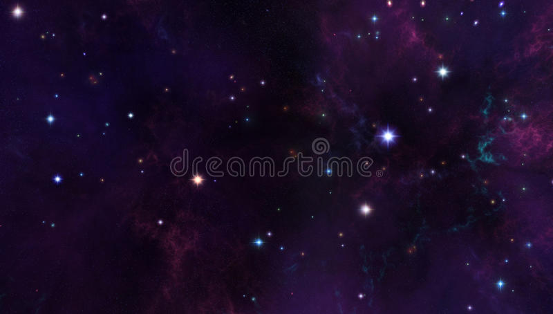 Download Galaxy background stock illustration. Image of color - 26920996