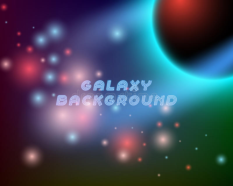 galaxy background outer astrology mystic deep colorful space vector illustration 89601008