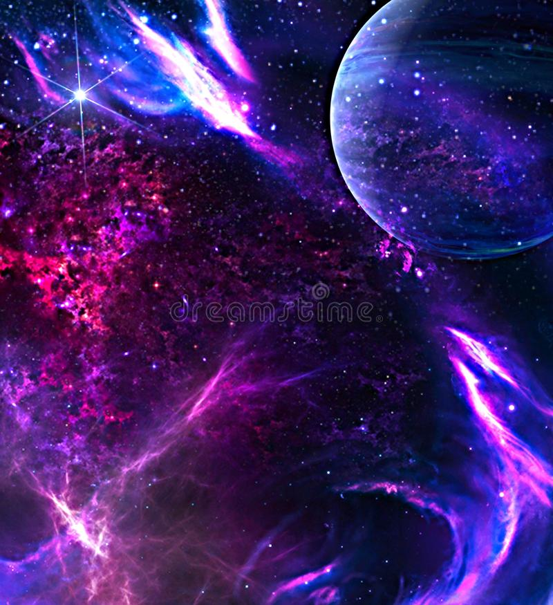 how to draw galaxy digital