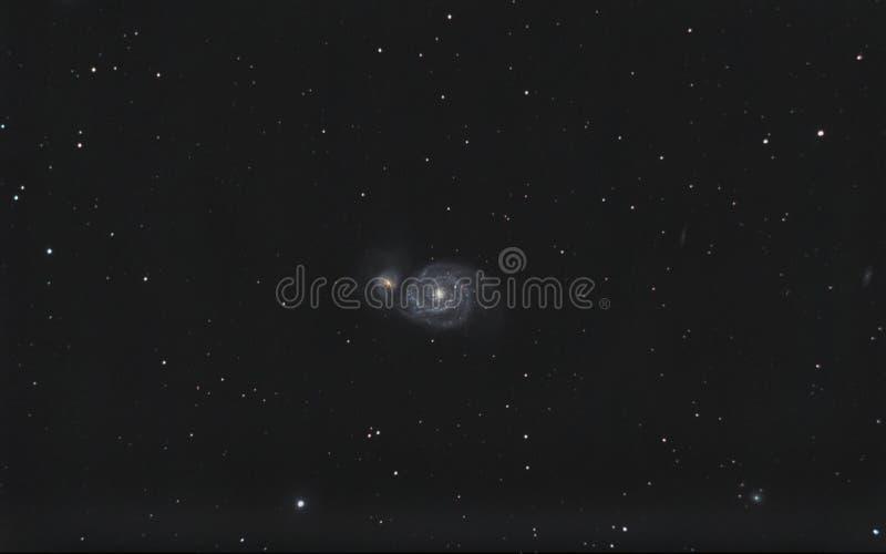galaxy bełkowisko m51 obrazy stock