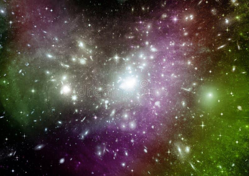 galaxy bezp?atna przestrze? zdjęcie stock