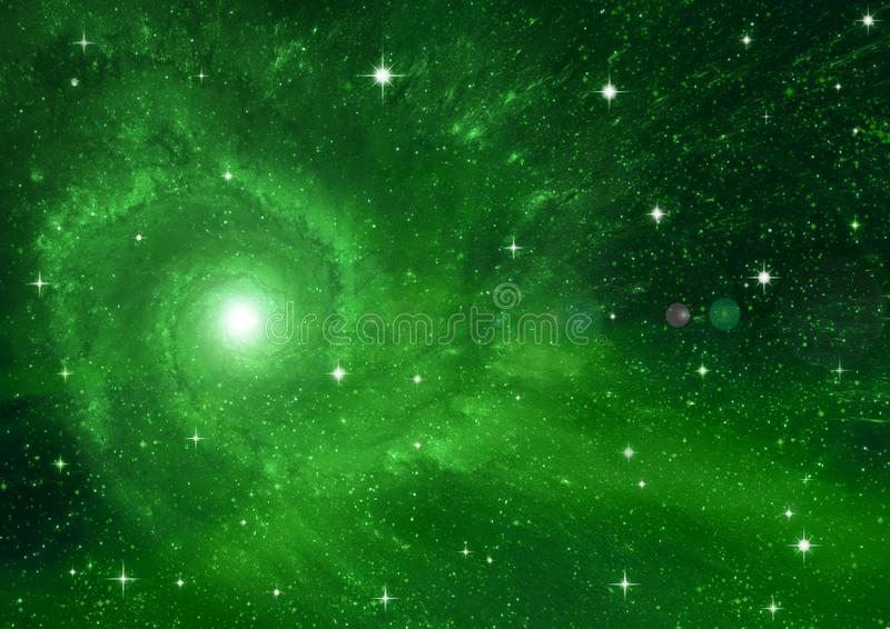 Galaxy in a free space. Stars of a planet and galaxy in a free space Elements of this image furnished by NASA stock photos