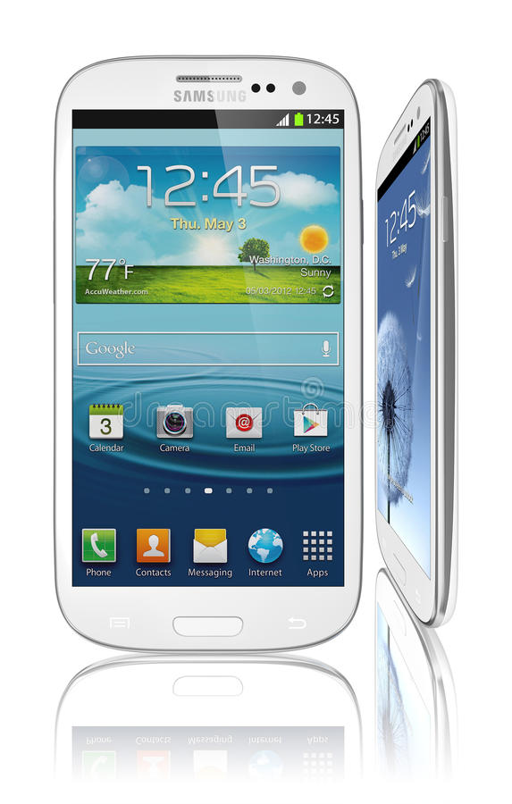 galaxy s3 Samsung royalty ilustracja
