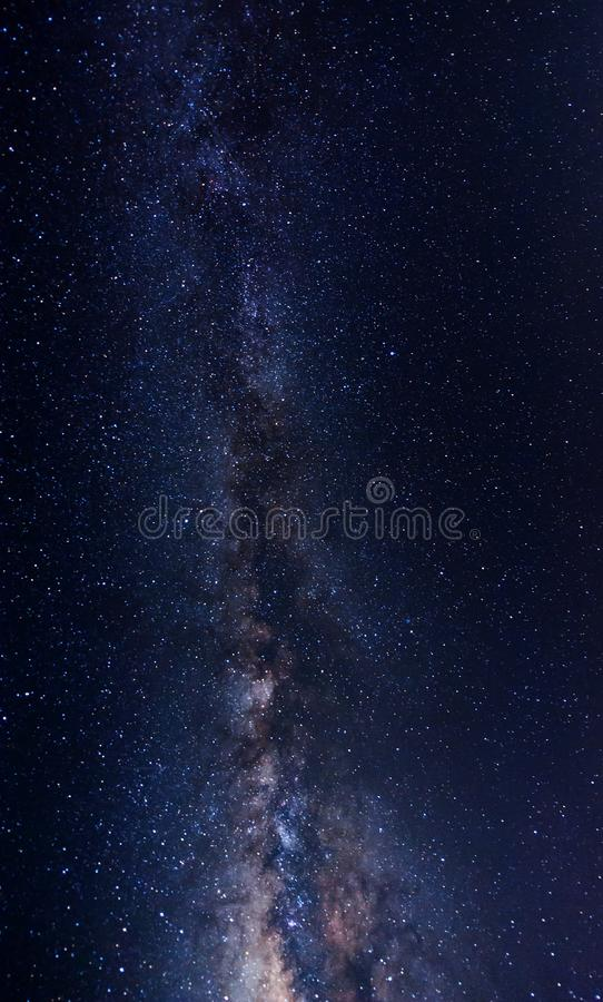 Galaxy in the sky. stock image