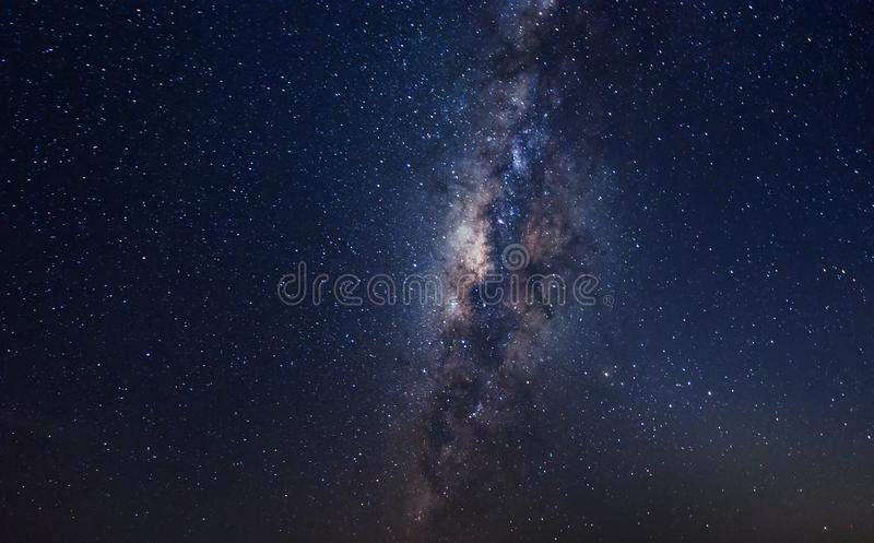 Galaxy in the sky. stock photography