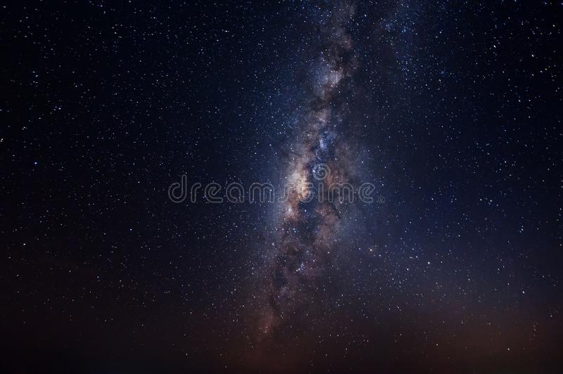Galaxy in the sky. royalty free stock photography