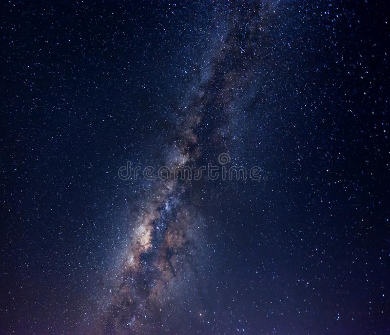 Galaxy in the sky. royalty free stock photos