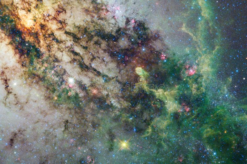 Galaxy somewhere in deep space. Beauty of universe. Elements of this image furnished by NASA stock image