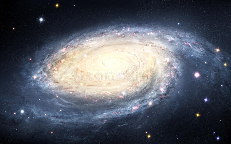galaxy spiral 向量例证
