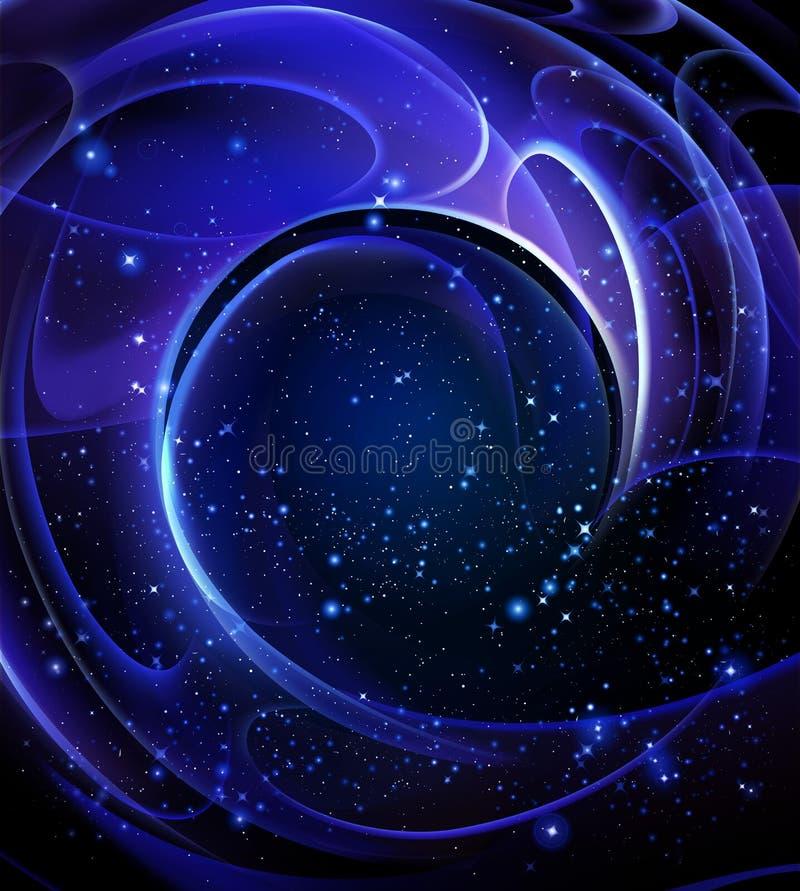 galaxy spiral 皇族释放例证