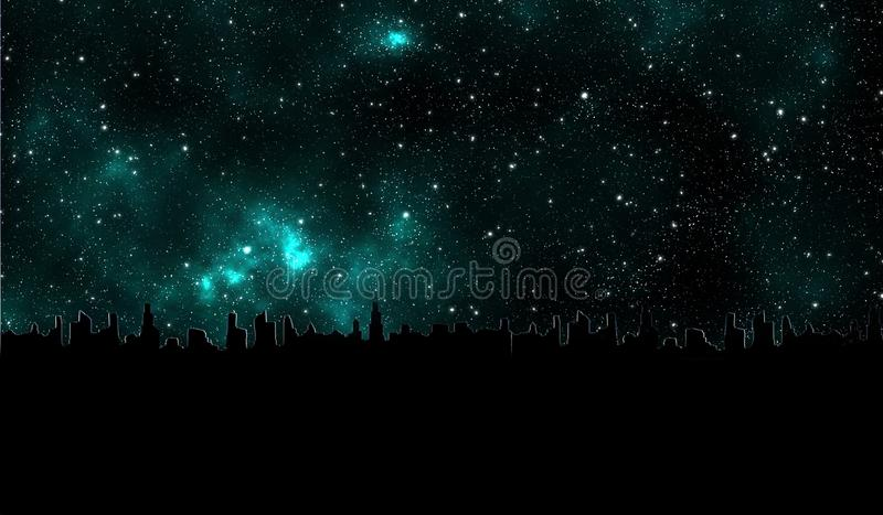 Download Galaxy Stars In The Universe Outside Earth Abstract Graphic Design Wallpaper Card 3d Stock