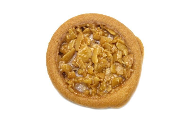 Galdéria da amêndoa e cookies flavored tão doces foto de stock royalty free