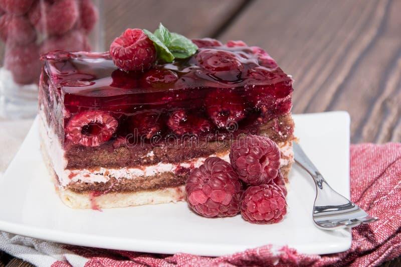 Download Galdéria De Framboesa Com Frutos Foto de Stock - Imagem de parcela, torta: 29841260