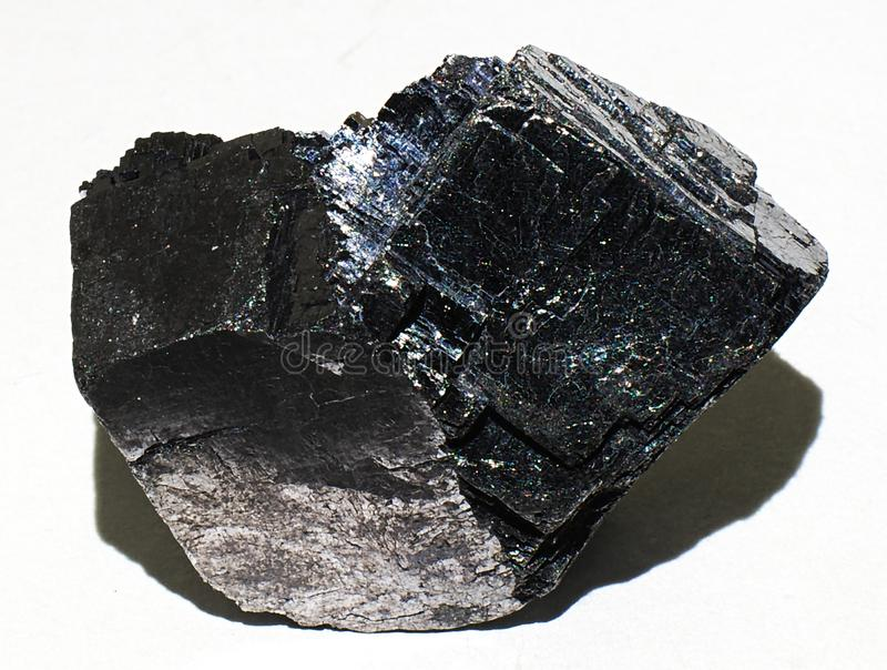 Galena lead mineral stone crystal gem stock photography